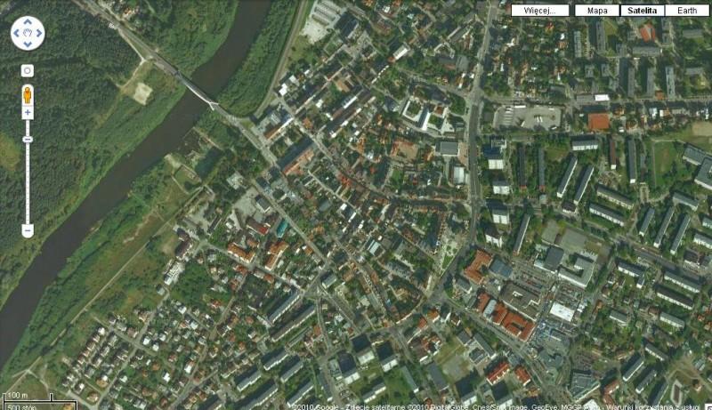 mapa satelitarna google Zobacz satelitarne zdjęcia Ostrołęki w Google Maps. (SATELITARNA