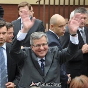 Prezydent RP, Bronis�aw Komorowski, fot. eOstro��ka.pl