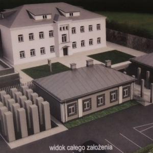Wizualizacja Muzeum �o�nierzy Wykl�tych w Ostro��ce