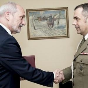 Minister Obrony Antoni Macierewicz, p�k. Wies�aw  Kuku�a, fot. ppor. Robert Suchy/CO MON