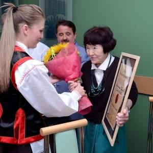 Zofia Pilecka zosta�a Honorowym Obywatelem Gminy Kadzid�o, fot. UG w Kadzidle